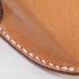 Brillenetui Seitennaht 2 M-Frosch Leder
