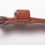 Gürtel Schnalle Seite M-Frosch Leder