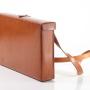 Laptoptasche breit seite-vorne M-Frosch Leder