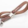 Schlüsselband Lanyard eng M-Frosch Leder