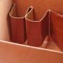Schuhputzbox Schlaufen M-Frosch Leder