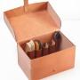 Schuhputzbox offen gefüllt M-Frosch Leder