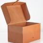 Schuhputzbox offen seite M-Frosch Leder